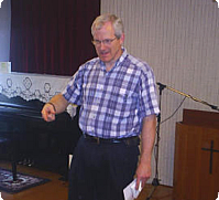 バイブルクラス講師・ケビン・ザークル先生