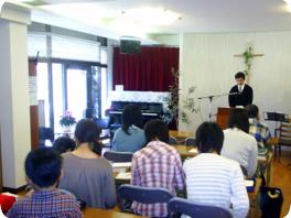 教会堂 礼拝